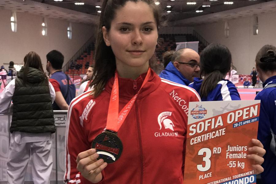"Спортният талант на ""Еврофутбол"" и ФРГИ - Радина Борисова"