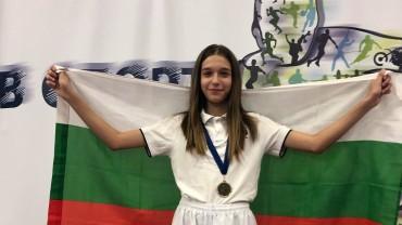 Талантът Александра Георгиева е балканска шампионка
