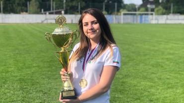 """Спортният талант """"Еврофутбол"""" и ФРГИ Нургюл Салимова е Европейска отборна шампионка"""