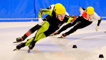 Любомир Калчев е 7-ми на състезание по шорттрек в Бормио