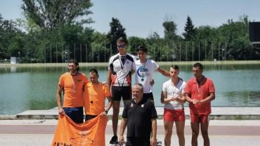Спортният талант Станимир Халаджов с три златни медала от Държавното по гребане