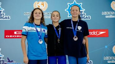 Георги Цурев, Василики Кадоглу и Тиана Темелкова с пет златни медала от турнир по плуване в Бургас